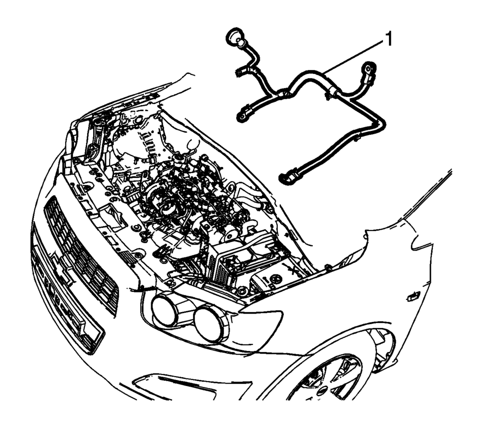 2013 chevy sonic battery wiring