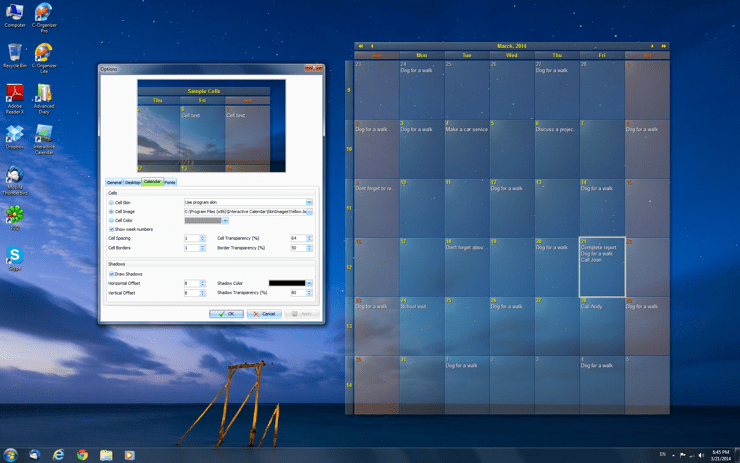 download appointment calendar
