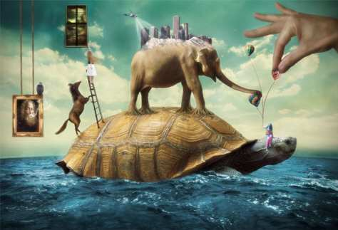 How to Create a Surreal Scene Full of Life in Photoshop