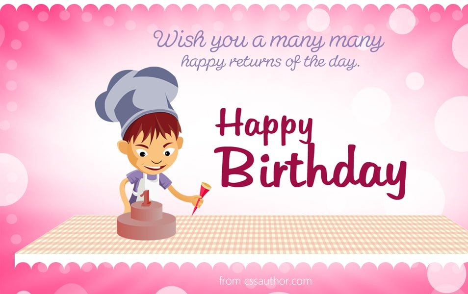 Beautiful Birthday greetings card PSD for Free Download - Freebie - birthday card template