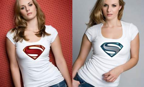 Cool New Superman (Man of Steel 2013) Free T-shirt Designs