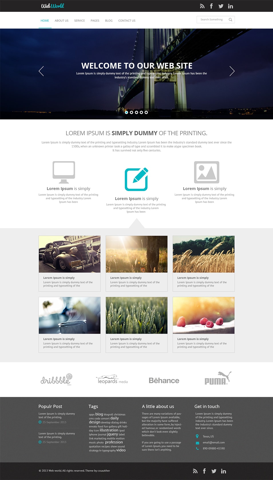 Web template psd download ltt web template psd download download source file format psd 1 free business accmission Gallery