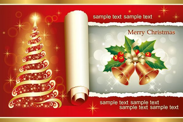 Free Christmas Greeting cards, Icons ,Decorative Elements