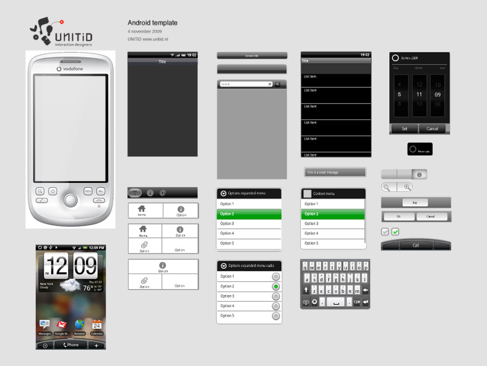 75+ GUI Templates for Android and iOS » CSS Author - android template