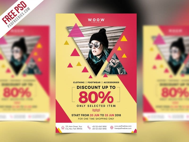 Best Free Flyer Templates PSD » CSS Author - advertising flyer template