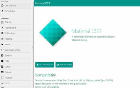 Material CSS