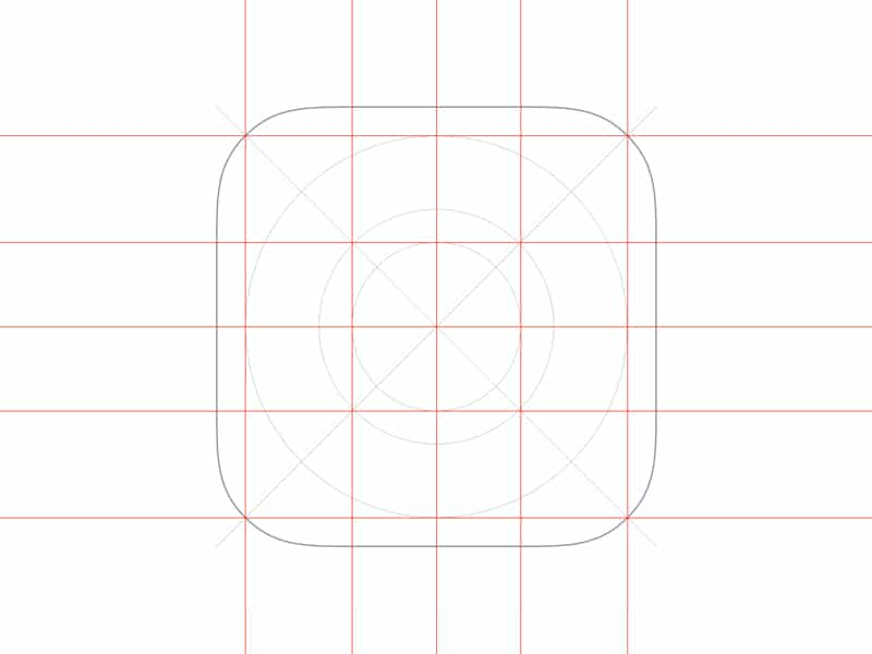 Icon Font Generator and Icon Design Templates » CSS Author - iphone app icon template