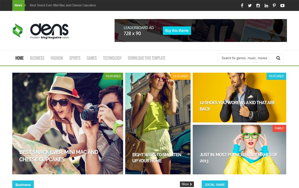 Responsive Magazine Blogger Templates ~ #JMBELOG - fashion blogger templates