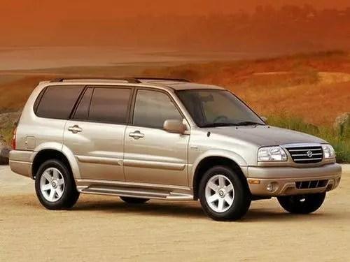 2002 Suzuki XL7 Expert Reviews, Specs and Photos Cars