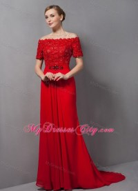 27 wonderful Red Night Dresses Women  playzoa.com