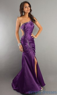 Purple formal dresses with sleeves - Style Jeans