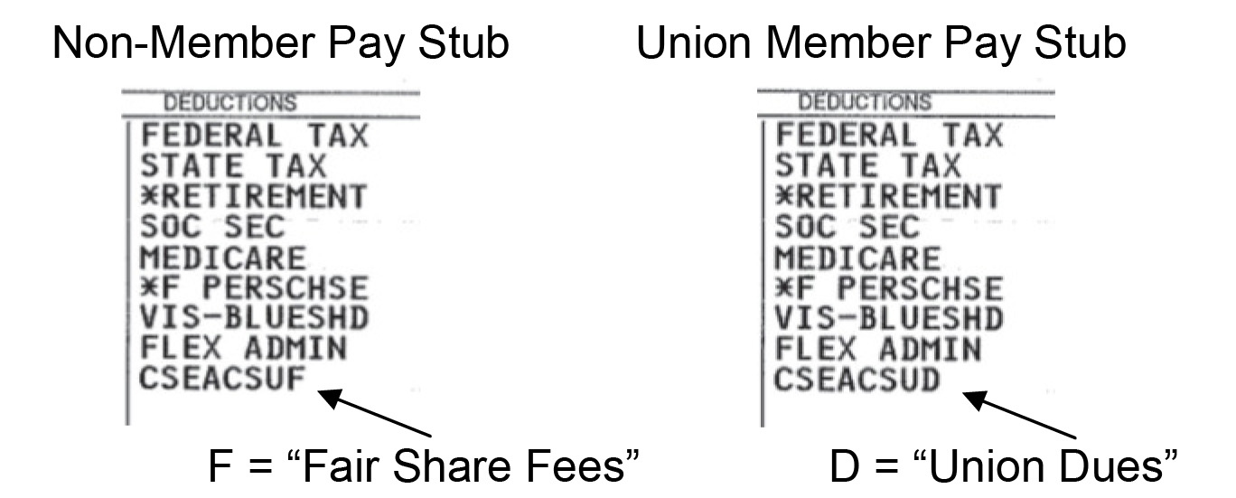 Membership Benefits CSUSM - Sample Paycheck Stubs