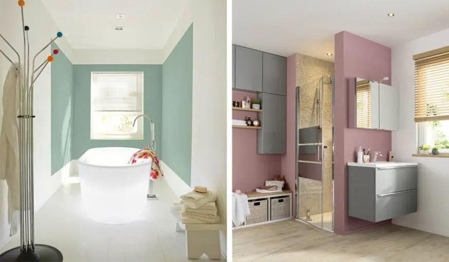 Peinture salle de bain  40 idées de couleurs pour une déco tendance