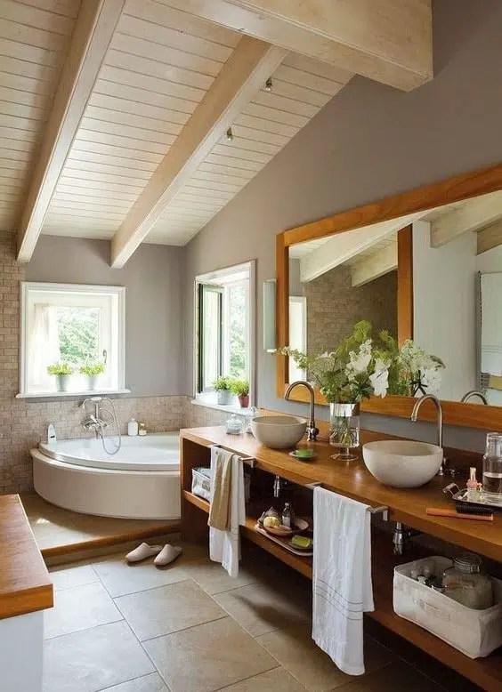 Salle de bain zen  38 idées décos natures et chaleuseuses