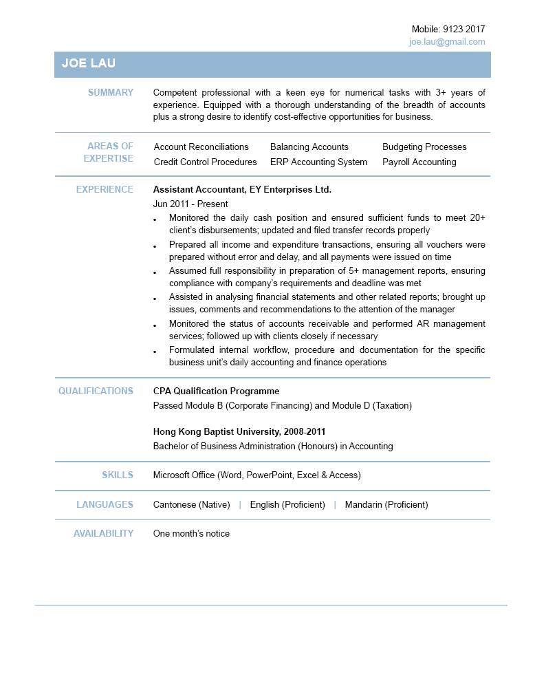 resume format chief accountant professional resume cover letter resume format chief accountant resume chief accountant jobs best sample resume assistant accountant cv ctgoodjobs powered
