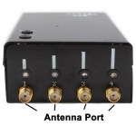 Disturbatore Jammer GPS portatile universale per 1170-1600mhz portata 15mt, 2 watt