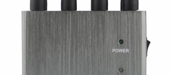 Disturbatore Jammer cellulari JAMMER 8 Bande Portatile Cellulari 4G WIFI 433 868 MHz telecomandi auto - 8Watt