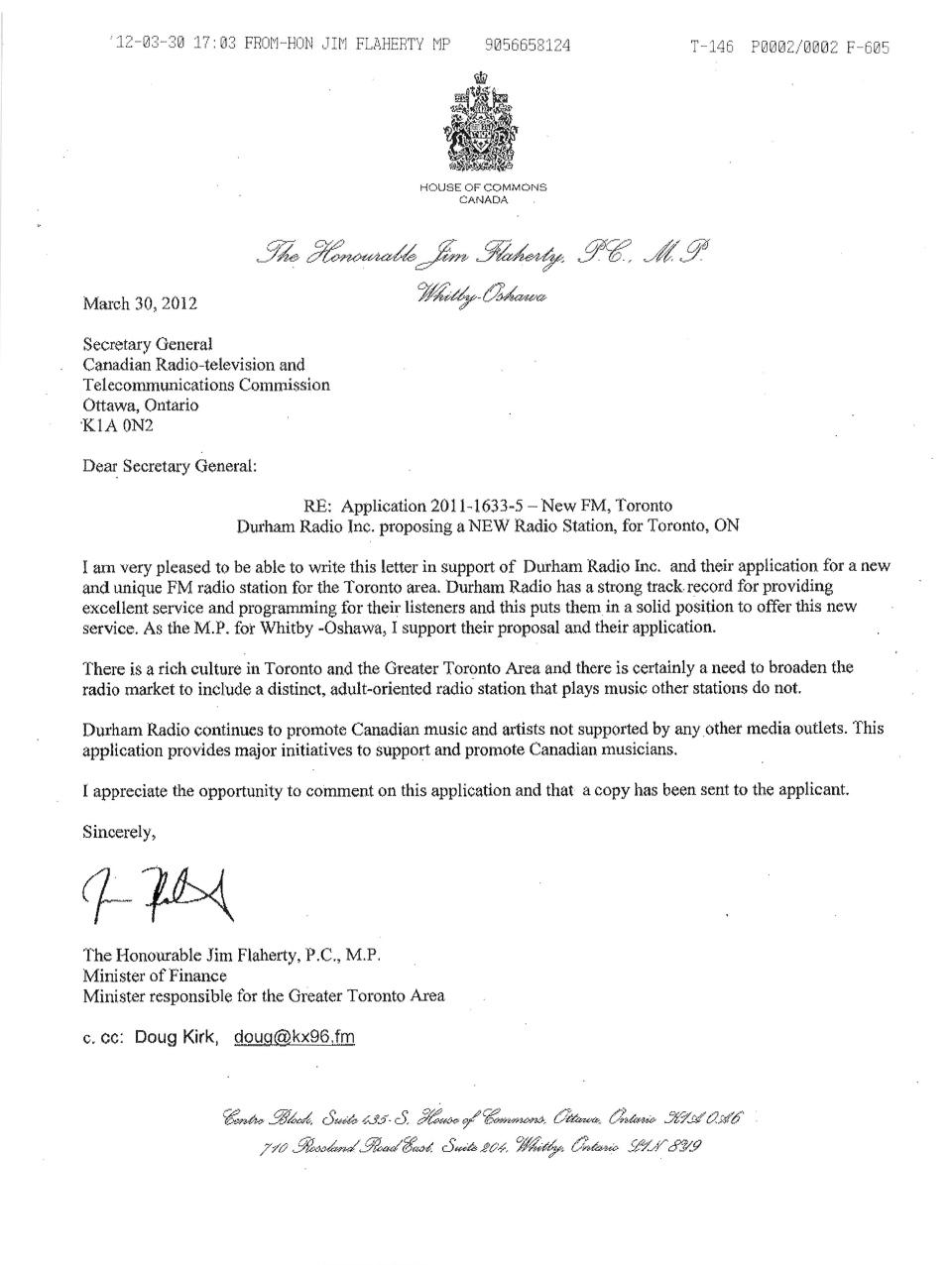 Resignation Letter Sample Ontario – Resignation Letter Canada