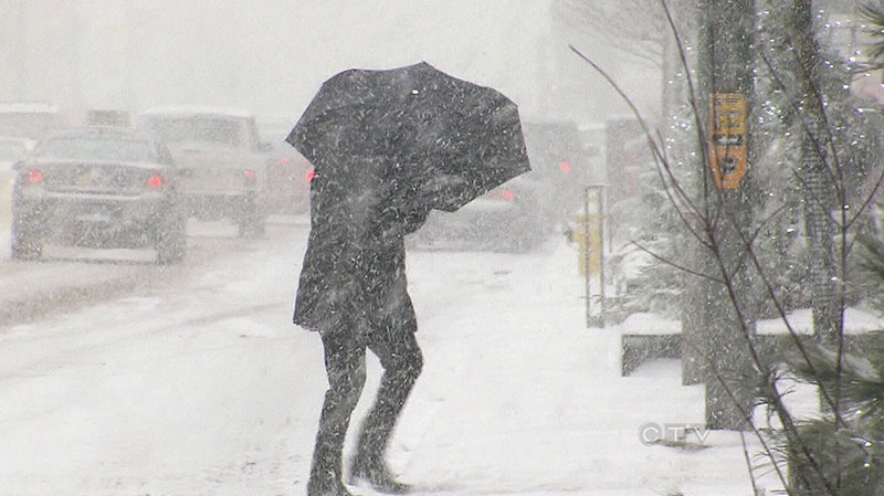 Storm Blasting Maritime Provinces With Heavy Snow High
