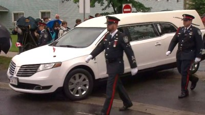Thousands gather in Fredericton for shooting funeral | CTV News