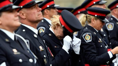 Officers killed in Fredericton shooting honoured at Ottawa ceremony | CTV News