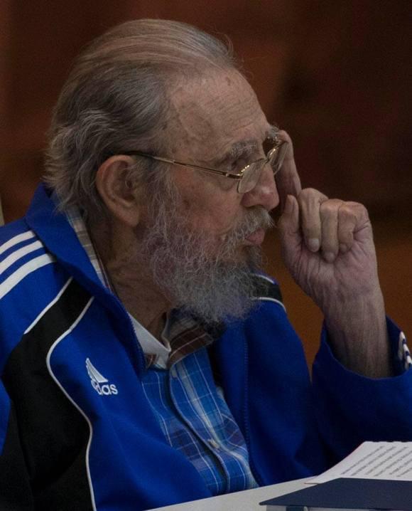Fidel. Foto: Ismael Francisco