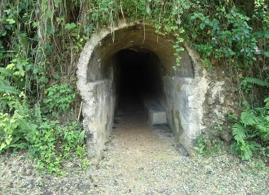 Túnel al costado del Castillo del Príncipe, La Habana (foto de Internet)
