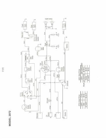 2072 cub cadet wiring diagram