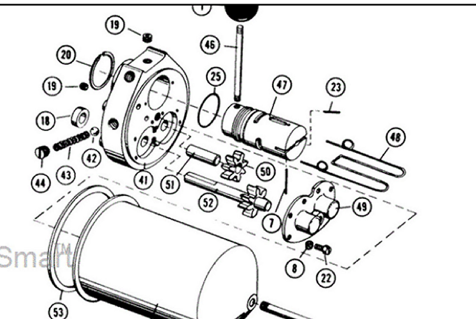 wheel horse hydraulic diagram