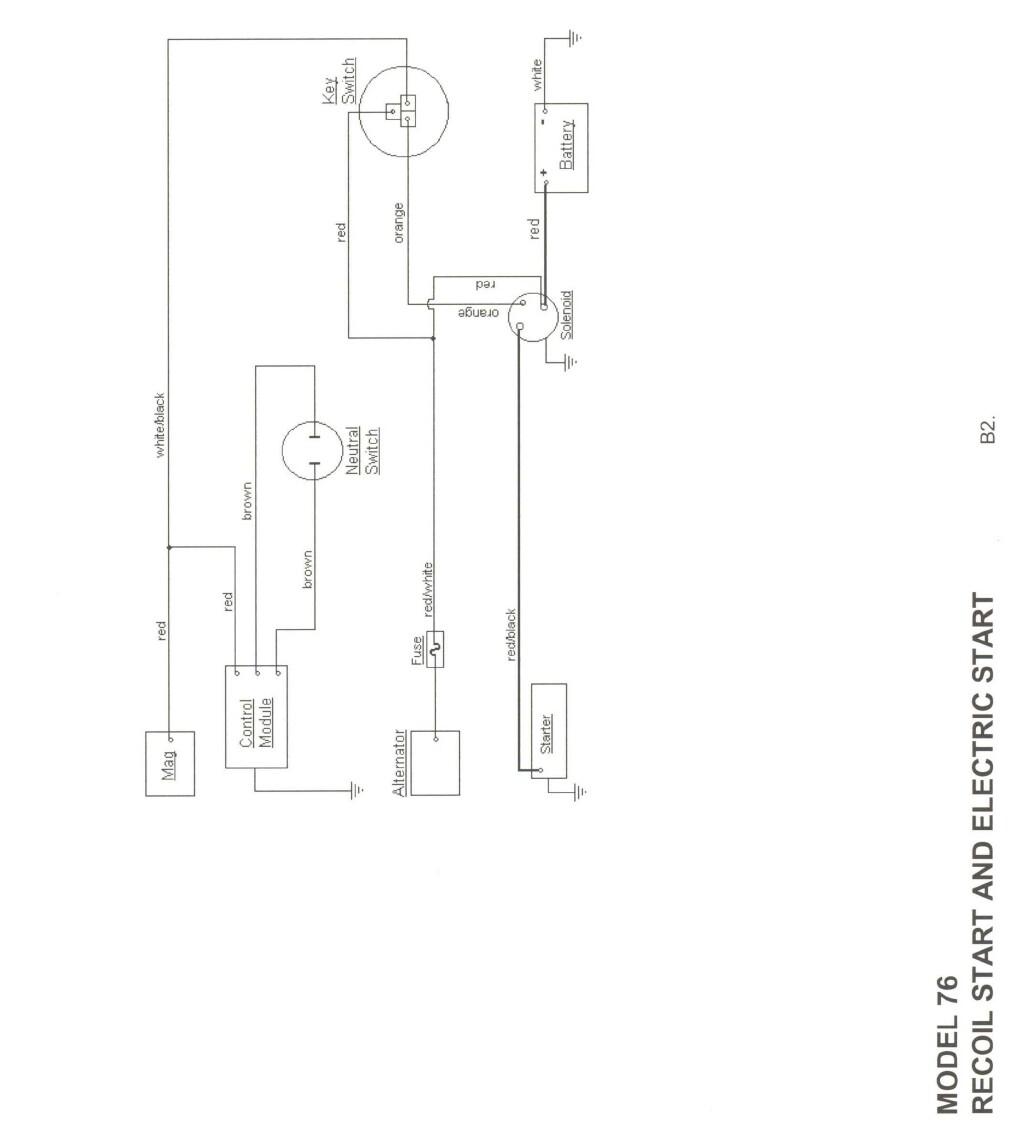wiring diagram for cub cadet 782