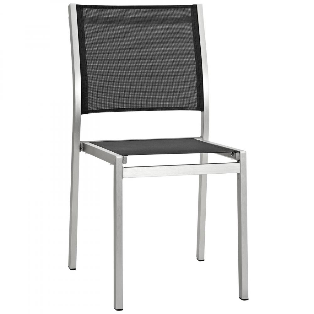 Modena Black Metal Bistro Chairs