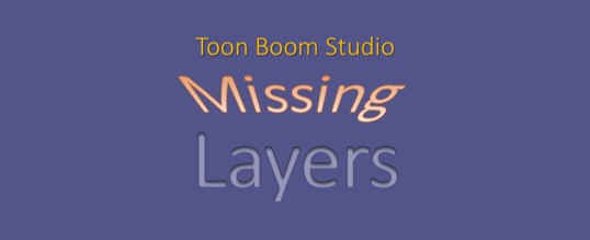 2D Animation: Finding Drawing Layers In Toon Boom Studio