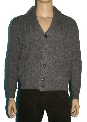 Loro Piana Cardigan Grey