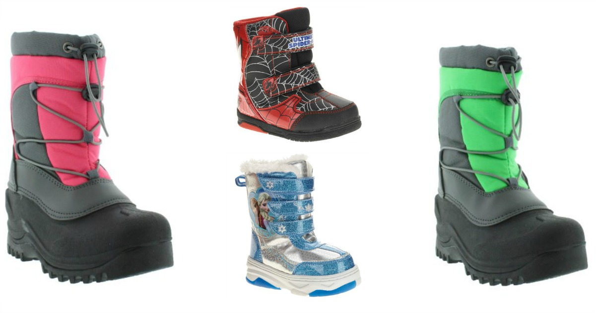 Walmart 1388 Kids Snow Boots More 25 Value