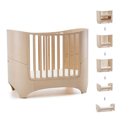 Leander Baby Bed Mattress In Whitewash Babies Cots
