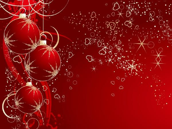 50 Red Christmas Wallpapers Art and Design - christmas background image
