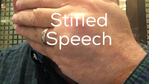 stifled speech