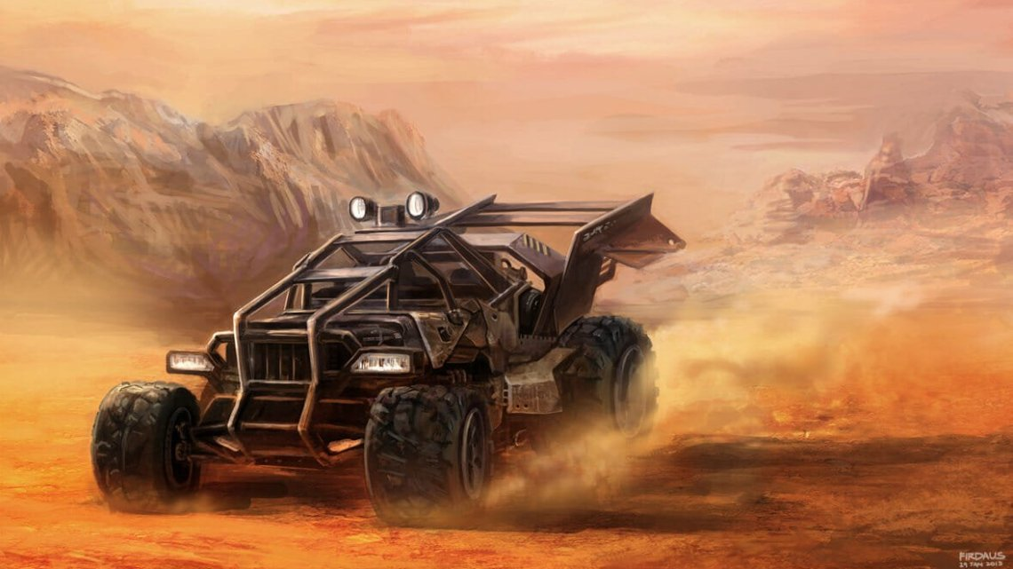 Junk Desert Buggy por Freakyfir