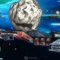 Rebel Galaxy Asteroid Battle