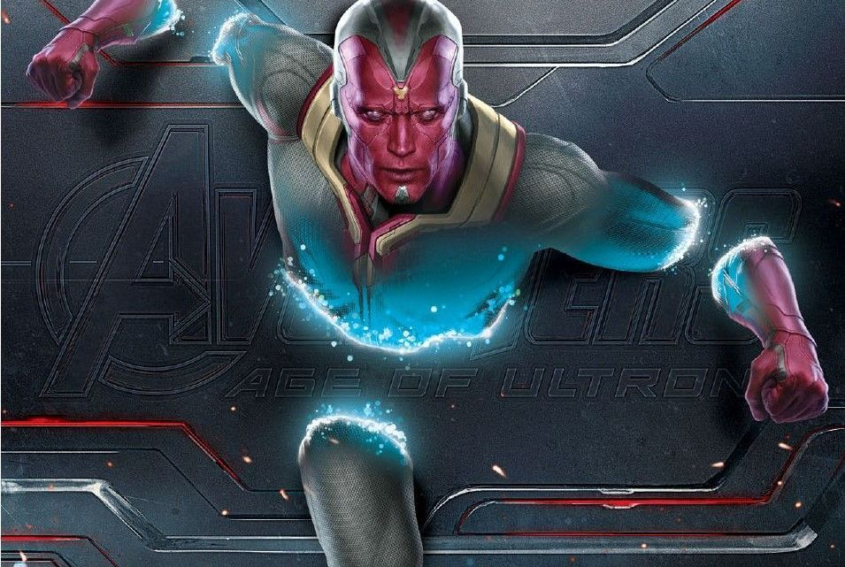 Avengers Age of Ultron Vision