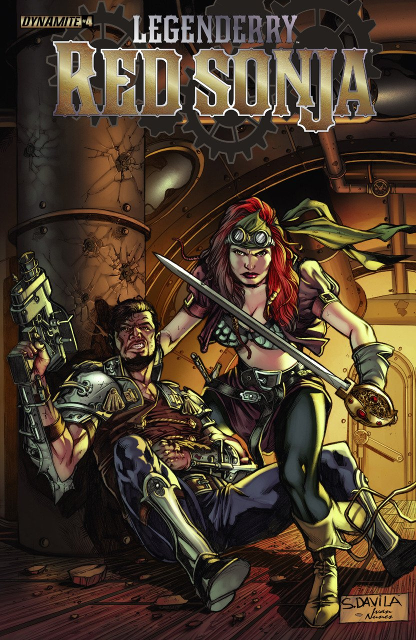 Legenderry Red Sonja cover