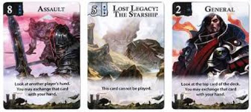 Lost Legacy Starship card examples 2