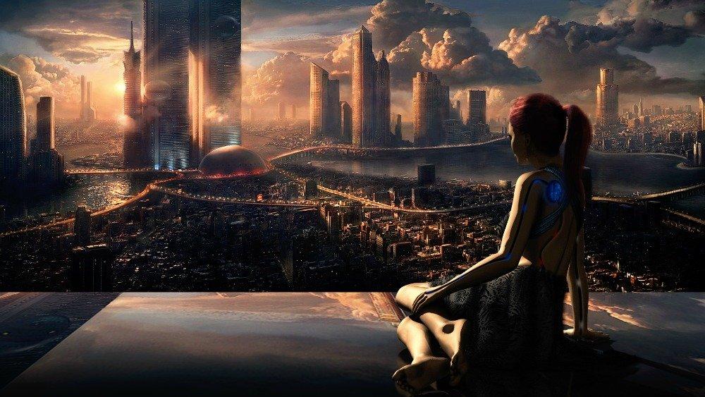 Scifi citysacape