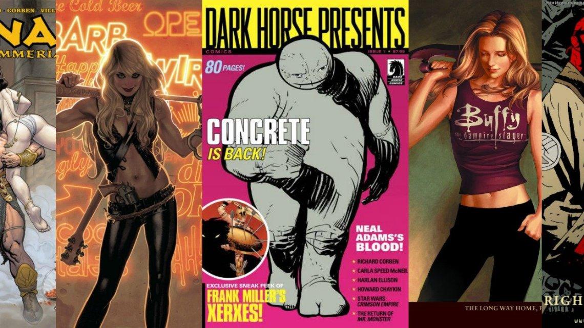 Dark Horse Collage