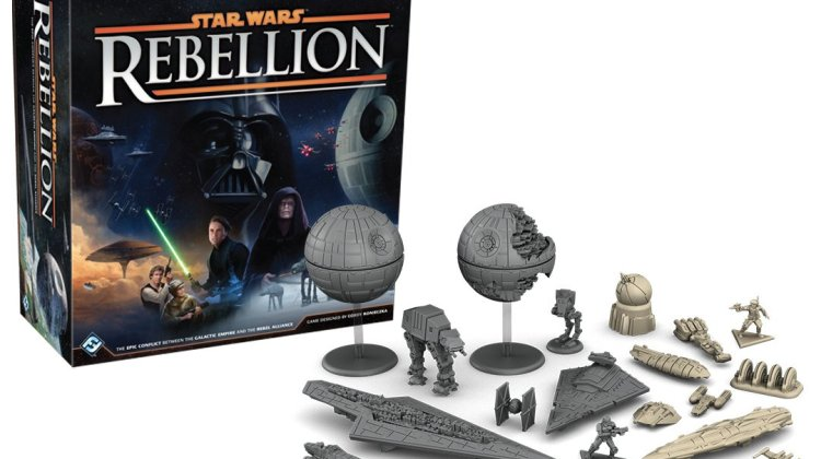 Star Wars: Rebellion Caja y Miniaturas