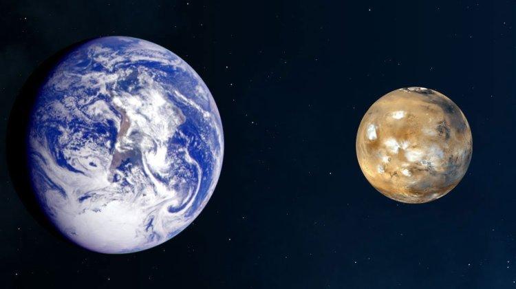 Marte Vs La Tierra