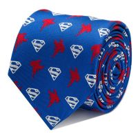 Superman Blue Tie - CUFFZ - Cufflinks and Accessories ...