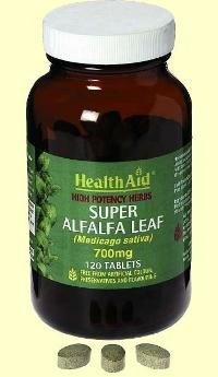 Alfalfa en tabletas