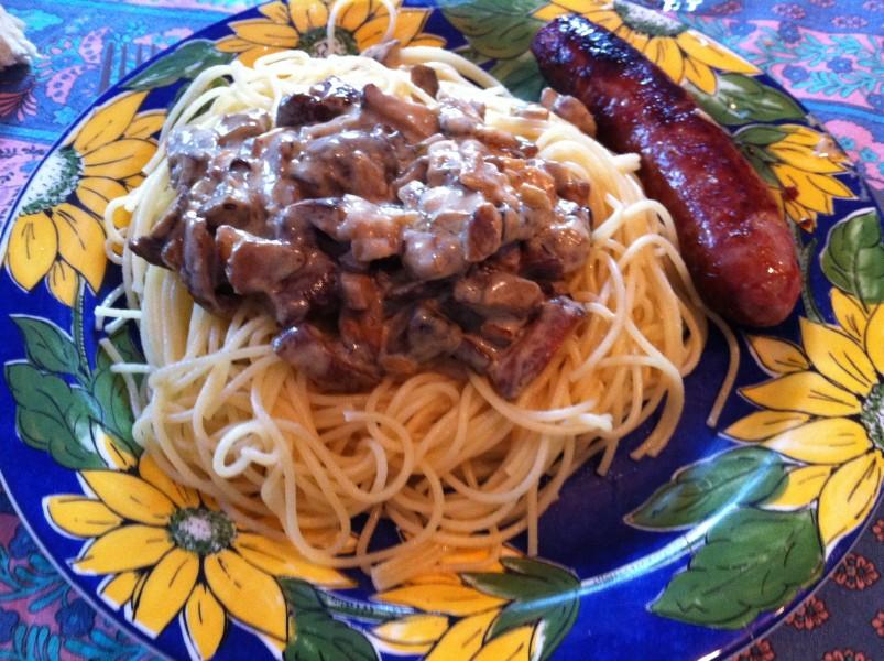 Cr me aux champignonscuisonaute cuisonaute - Cuisiner les champignons pieds de mouton ...