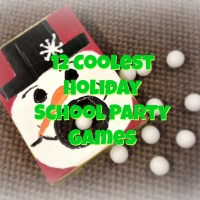 12 Coolest Holiday School Party Games